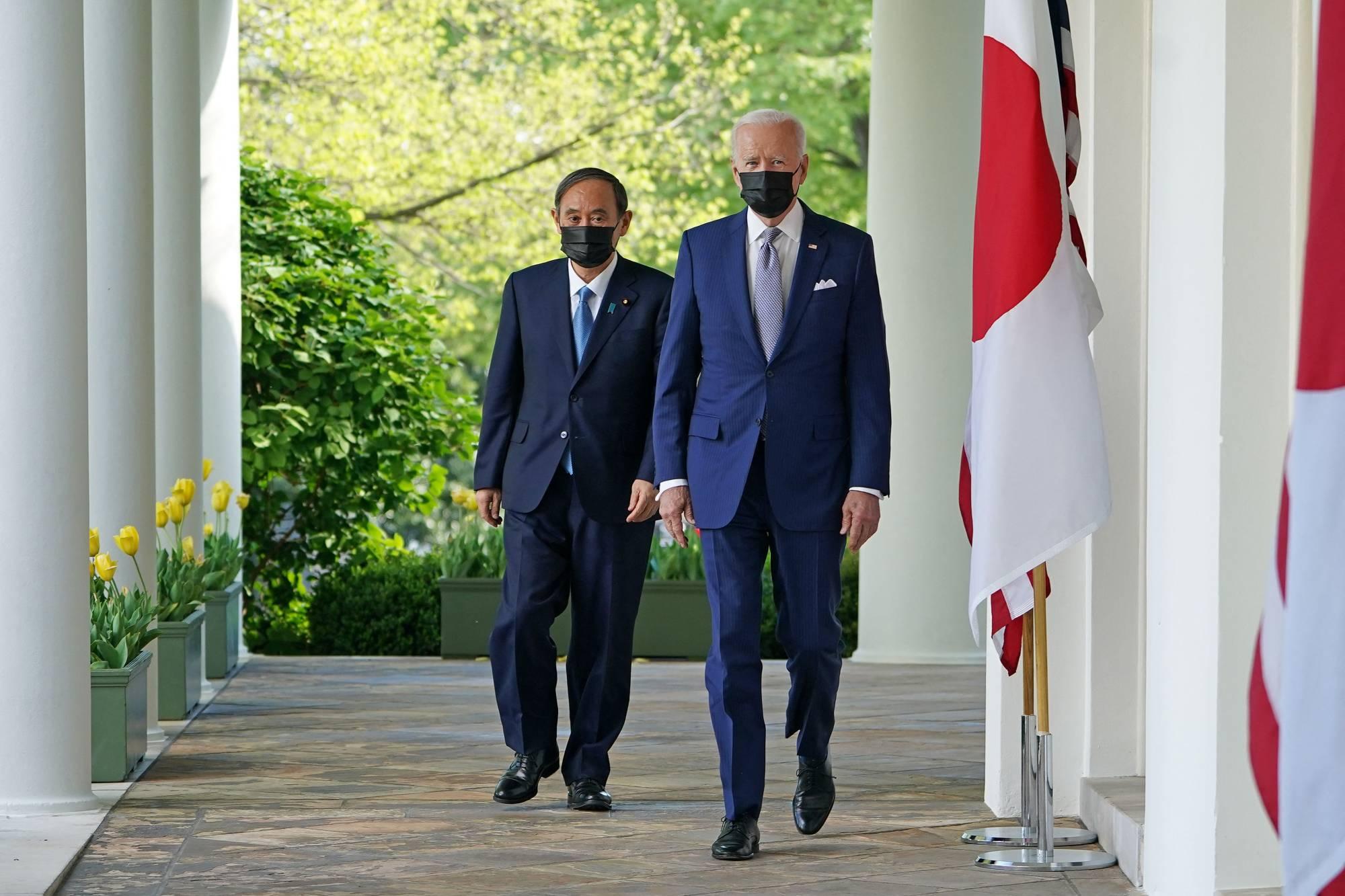 US-JAPAN-POLITICS-BIDEN-SUGA